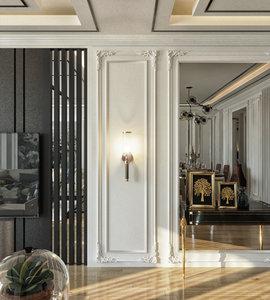 interior design scene 3D model