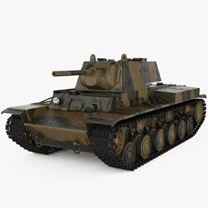 3D kv-1 kv 1 model