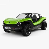3D model volkswagen buggy id
