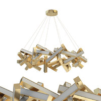 Chaos 31-light Led Geometric Pendant