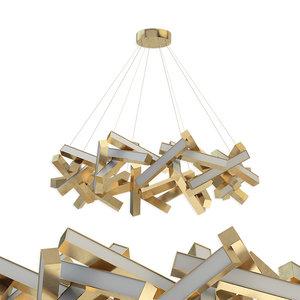 3D model chaos 31-light led geometric