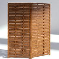 wood room 3D model