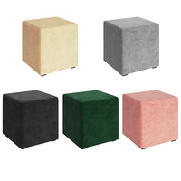3D colored ottomans model