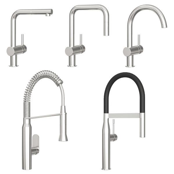 3d Grohe Kitchen Faucet Model Turbosquid 1477132