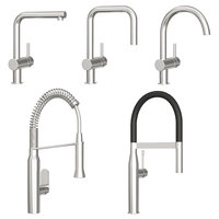 3D grohe kitchen faucet model