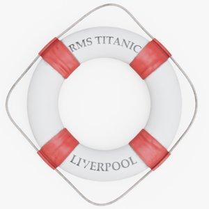 3D titanic life