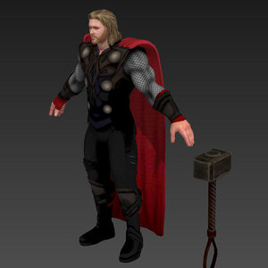 3D thor marvel