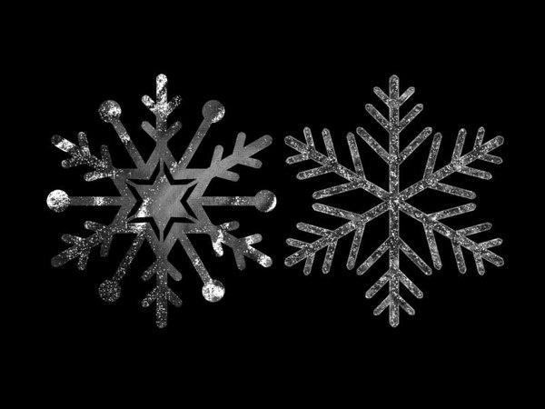 snow snowflake model