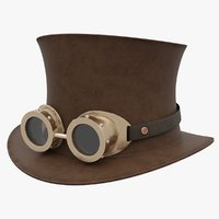 3D steampunk hat