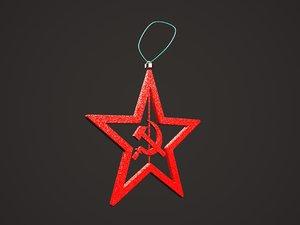 3D zvezda sssr