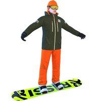 snowboarder board 3D model