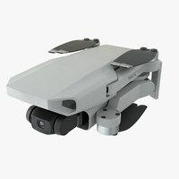 realistic dji mavic mini 3D model