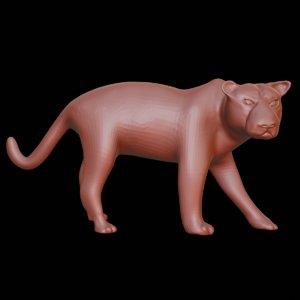 3D panther printing