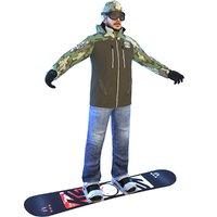 snowboarder 3 board 3D model