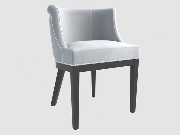 3D model boca grande dining chair