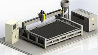 Water Cut CNC machine