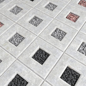 smoothing tiled 3D