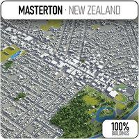 masterton surrounding - 3D model