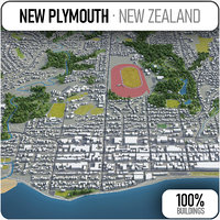 3D new plymouth surrounding -
