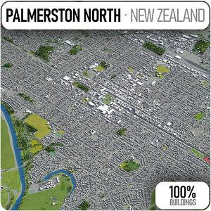 3D palmerston north surrounding -