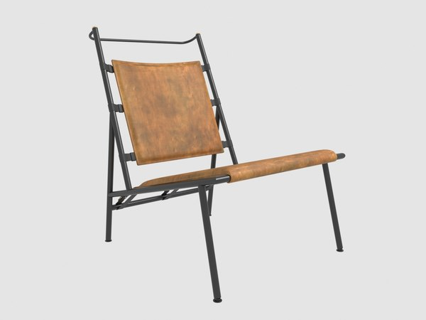 chair jacques adnet model
