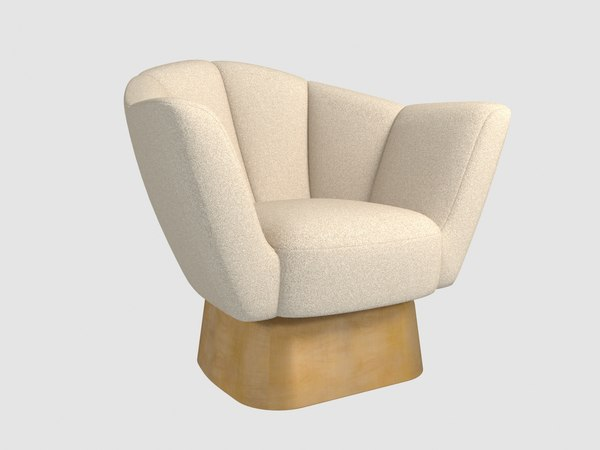 3D welcome armchair damien langlois-meurinne