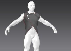 vest marvelous 3D