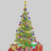 christmas tree christ 3D model