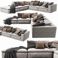3D noblesouls realm sofa set