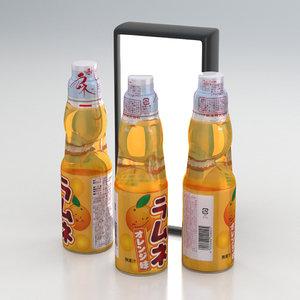 soda beverage 3D model