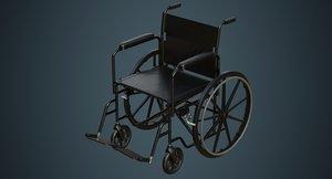 wheelchair 1a 3D