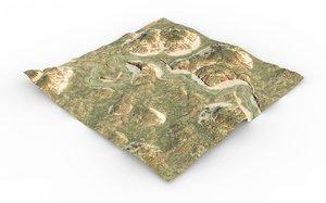 3D games terrain maps
