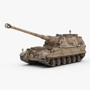 max british 90 artillery braveheart