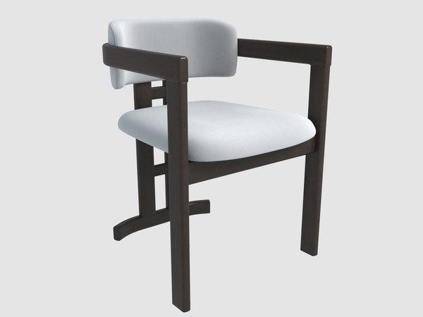 3D dorotea armchair hamilton conte