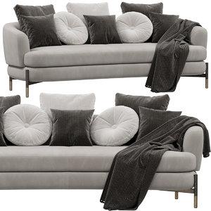 cantori miami sofa 3D model