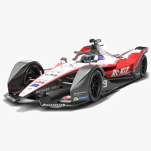 3D model rokit venturi racing formula