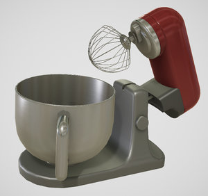 kitchen mixer 3D