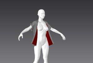 open cape marvelous 3D model