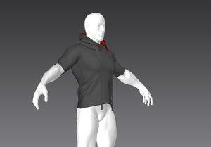 t-shirt03 marvelous 3D model