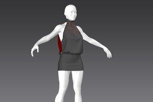 dress04 marvelous model