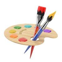 Wooden Artist Palette