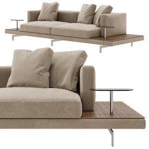 dock sofa b 3D model