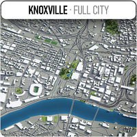 3D knoxville surrounding -