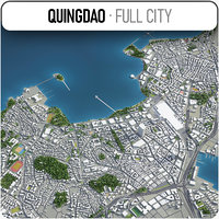 quingdao surrounding - 3D