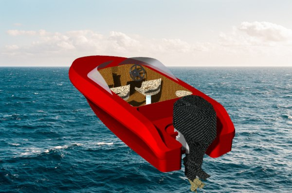 powerboat neptun 3d 3dm