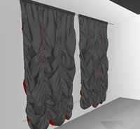 3D curtains01 smallest marvelous designer