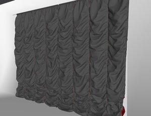 3D curtains01 variation bigger marvelous model