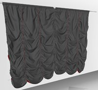 curtains01 variation smallest marvelous 3D model