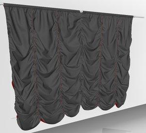 curtains01 variation smallest marvelous 3D model