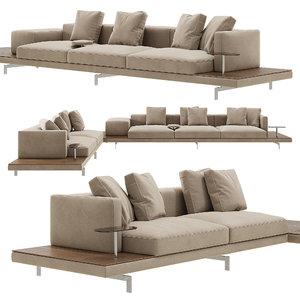 dock sofa b 3D